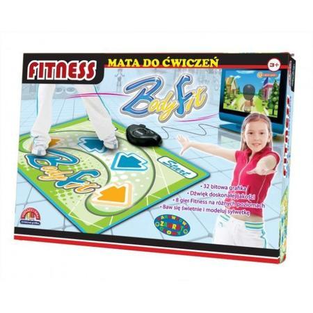 Body Fit, Mata do ćwiczeń Tv Fitness Sportowa 1213 marki Dromader - zdjęcie nr 1 - Bangla