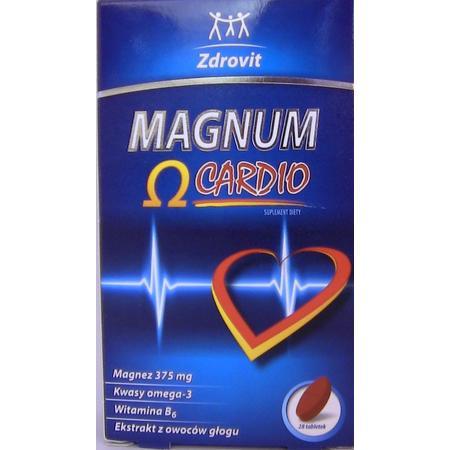 Magnum Omega Cardio, tabletki marki Zdrovit - zdjęcie nr 1 - Bangla