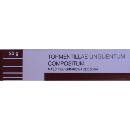 Tormentillae Unguentum Compositum, Maść pięciornikowa złożona marki Amara - zdjęcie nr 1 - Bangla