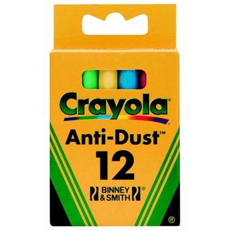 Anti-Dust Chalk, Kreda niepyląca kolorowa marki Crayola - zdjęcie nr 1 - Bangla