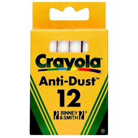 Anti-Dust Chalk, Kreda niepyląca biała marki Crayola - zdjęcie nr 1 - Bangla