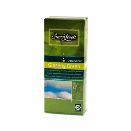 Ginseng Green, Herbata ekspresowa zielona z żeńszeniem BIO marki Simon Levelt - zdjęcie nr 1 - Bangla