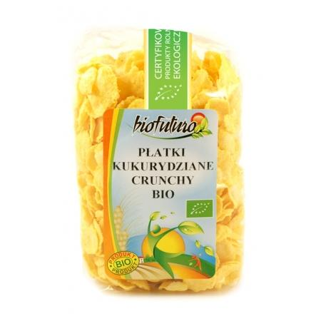 Płatki kukurydziane crunchy BIO marki Biofuturo - zdjęcie nr 1 - Bangla