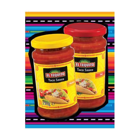 El Tequito, Taco Sauce, Hot/Medium marki Lidl - zdjęcie nr 1 - Bangla
