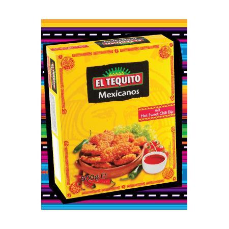 El Tequito, Mexicanos mit hot sweet chili dip marki Lidl - zdjęcie nr 1 - Bangla