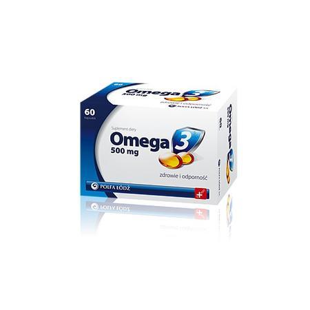 Omega 3 500 mg marki Polfa Łódź - zdjęcie nr 1 - Bangla