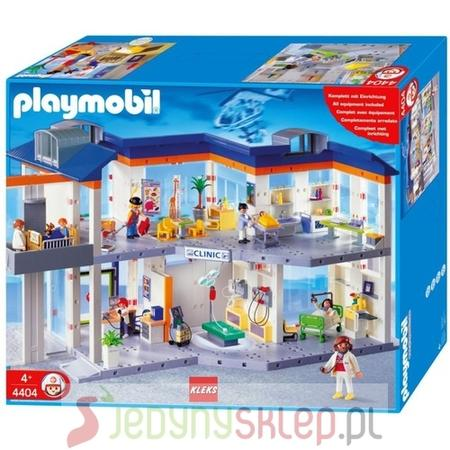 Wielki Szpital Z Wyposażeniem, 4404 marki Playmobil - zdjęcie nr 1 - Bangla