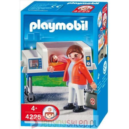 Położna z Inkubatorem 4225 marki Playmobil - zdjęcie nr 1 - Bangla