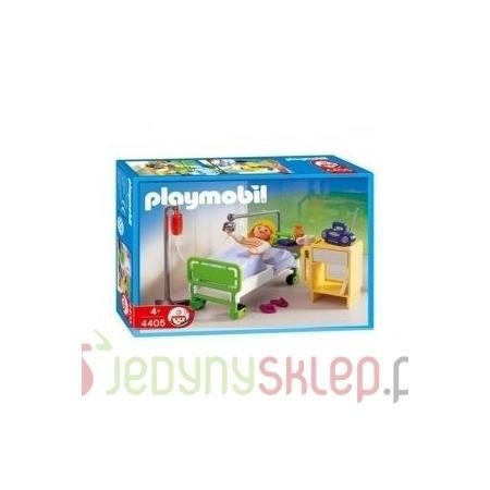 Pacjent w łóżku szpitalnym, 4405 marki Playmobil - zdjęcie nr 1 - Bangla