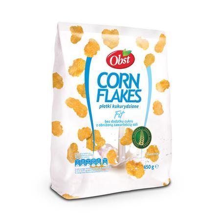Corn Flakes, Płatki kukurydziane Fit marki Obst - zdjęcie nr 1 - Bangla