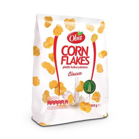 Corn Flakes, Płatki kukurydziane Classic marki Obst - zdjęcie nr 1 - Bangla