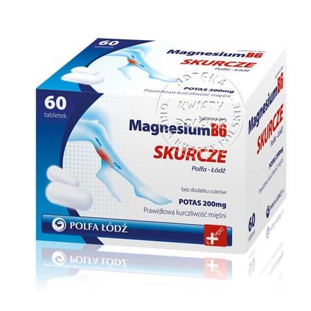 Magnesium B6 Skurcze marki Polfa Łódź - zdjęcie nr 1 - Bangla