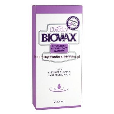 Biovax, Intensywnie regenerujący szampon do włosów ciemnych marki Biovax - zdjęcie nr 1 - Bangla