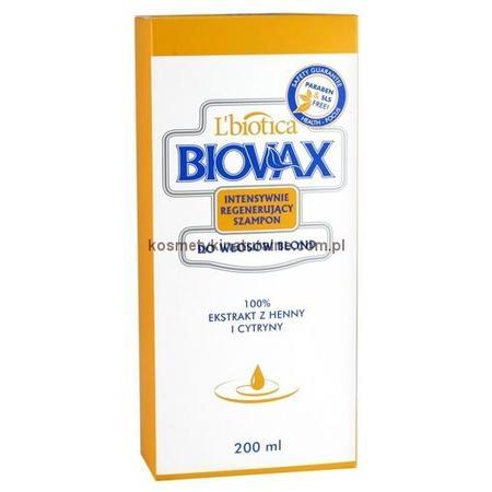 Biovax, Intensywnie regenerujący szampon do włosów blond marki Biovax - zdjęcie nr 1 - Bangla