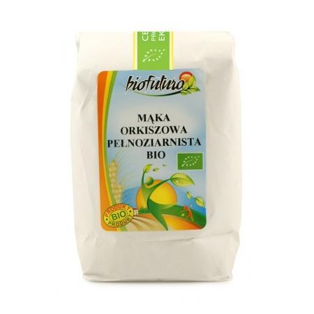Mąka orkiszowa pełnoziarnista BIO marki Biofuturo - zdjęcie nr 1 - Bangla