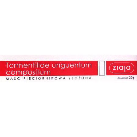 Tormentillae Unguentum Compositum, Maść pięciornikowa złożona marki Ziaja - zdjęcie nr 1 - Bangla