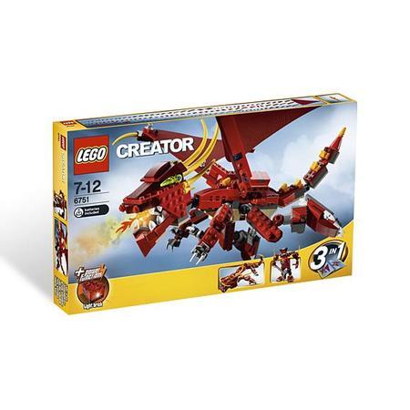Creator, Ognista legenda, 6751 marki Lego - zdjęcie nr 1 - Bangla
