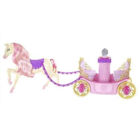 Barbie, Karoca z koniem W3895 marki Mattel - zdjęcie nr 1 - Bangla