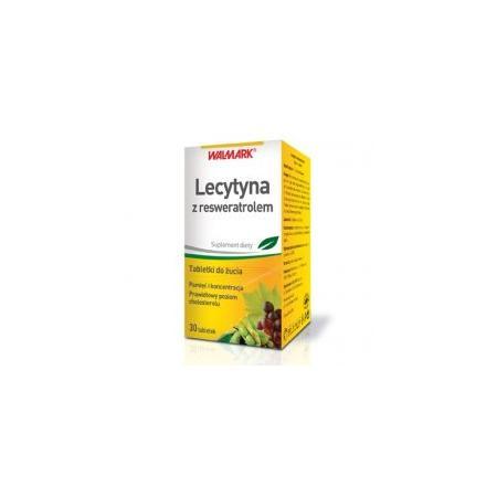 Lecytyna z resweratrolem, tabletki marki Walmark - zdjęcie nr 1 - Bangla