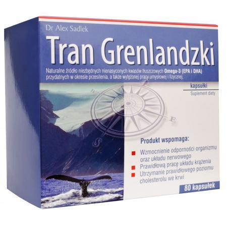 Tran Grenlandzki, kapsułki marki S-Lab - zdjęcie nr 1 - Bangla