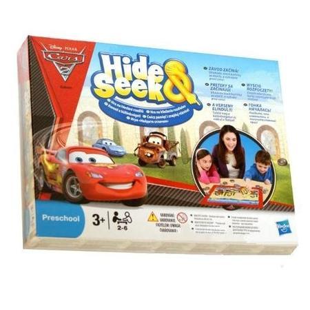 Cars, Hide & Seek, Gra Ukryj i Znajdź Auta 2, 27114 marki Hasbro - zdjęcie nr 1 - Bangla