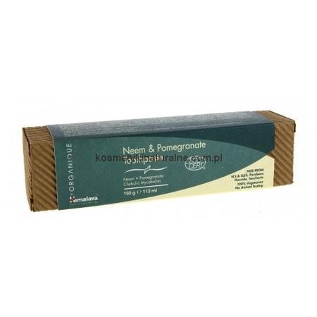 Organique Neem & Pomegranate Toothpaste, pasta do zębów neem i granat marki Himalaya - zdjęcie nr 1 - Bangla