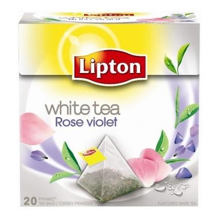 White Tea Rose Violet marki Lipton - zdjęcie nr 1 - Bangla