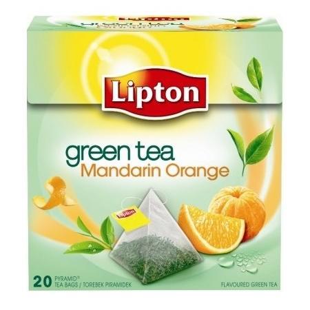 Green Tea Mandarin Orange marki Lipton - zdjęcie nr 1 - Bangla