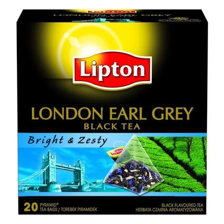 London Earl Grey Black Tea, Bright & Zesty marki Lipton - zdjęcie nr 1 - Bangla