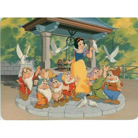 Królewna Śnieżka i kreskówka siedem krasnoludków