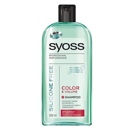 Silicone Free Color & Volume, Shampoo marki Syoss - zdjęcie nr 1 - Bangla