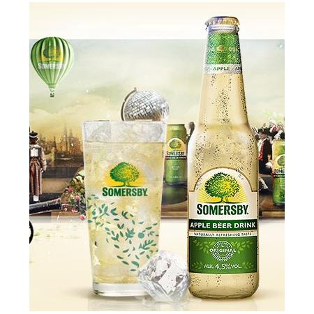 Apple / Blackberry Beer Drink marki Somersby - zdjęcie nr 1 - Bangla