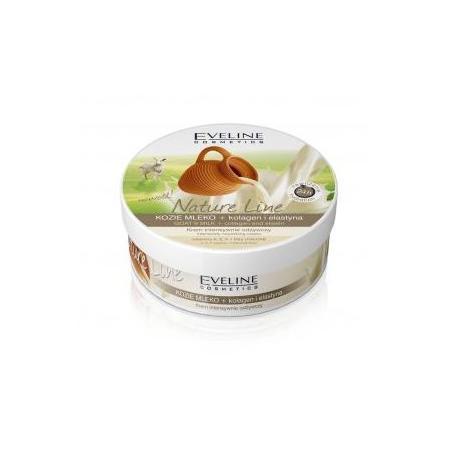Nature Line, Krem intensywnie odżywczy, kozie mleko + kolagen i elastyna marki Eveline Cosmetics - zdjęcie nr 1 - Bangla