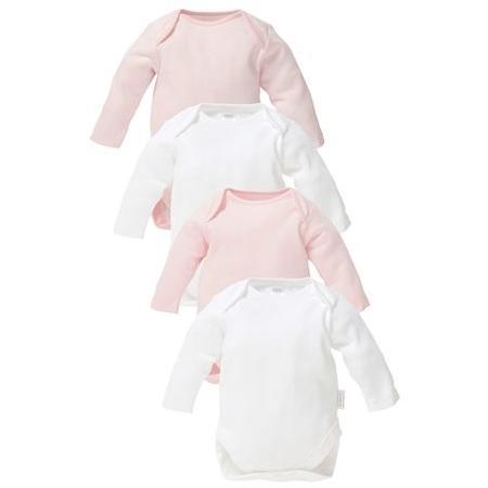 97d4646a0bbd34 Body niemowlęce z krótkim lub długim rękawem, 4 pak, Next - Opinie ...