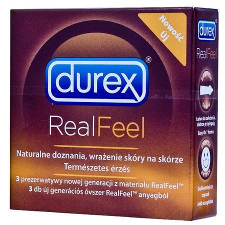 Real Feel, prezerwatywy nielateksowe marki Durex - zdjęcie nr 1 - Bangla