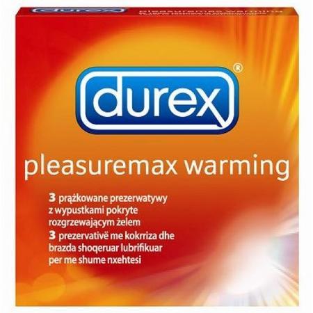 Pleasuremax Warming, z rozgrzewającym lubrykantem marki Durex - zdjęcie nr 1 - Bangla
