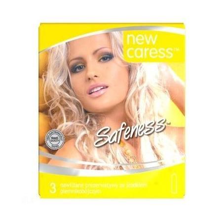 Safeness, ze środkiem plemnikobójczym marki New Caress - zdjęcie nr 1 - Bangla