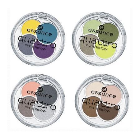 Quattro Eyeshadow, Poczwórne cienie do powiek marki Essence - zdjęcie nr 1 - Bangla