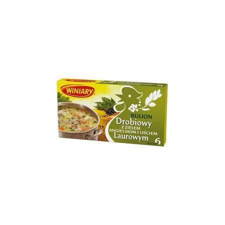 Bulion drobiowy z liściem laurowym i zielem angielskim marki Winiary - zdjęcie nr 1 - Bangla