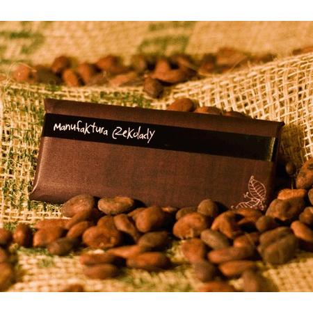 Czekolada 70% kako z Ghany + prażone ziarno kakao marki Manufaktura Czekolady - zdjęcie nr 1 - Bangla