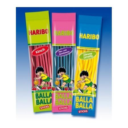 Balla Balla Sticks - różne smaki marki Haribo - zdjęcie nr 1 - Bangla