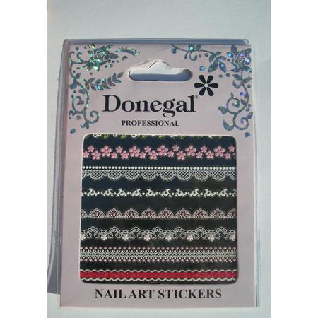 Nail Art Stickers, Naklejki na paznokcie koronki marki Donegal - zdjęcie nr 1 - Bangla