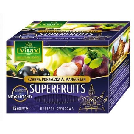 Superfruits, Herbata - różne smaki marki Vitax - zdjęcie nr 1 - Bangla