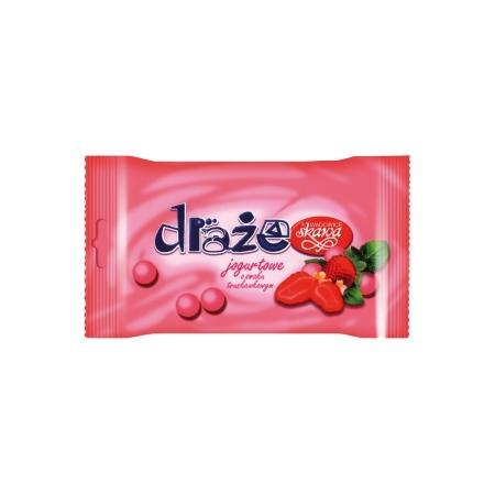 Draże jogurtowe o smaku truskawkowym marki Skawa - zdjęcie nr 1 - Bangla