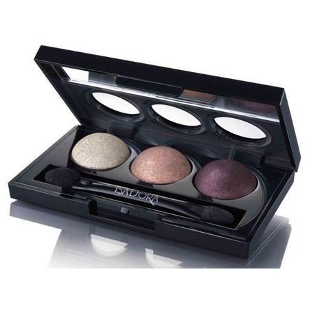 Eye Shadow Trio, Potrójna paleta wypiekanych cieni marki Isadora - zdjęcie nr 1 - Bangla