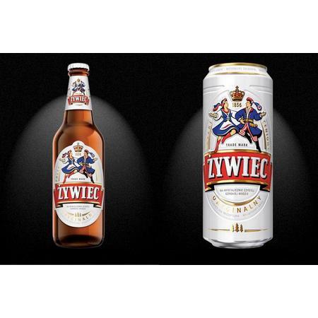 Piwo Żywiec Jasne Pełne butelka, puszka marki Grupa Żywiec S.A. - zdjęcie nr 1 - Bangla