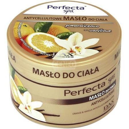 Perfecta SPA Antycellulitowe masło do ciała pomarańcza+wanilia marki Dax Cosmetics - zdjęcie nr 1 - Bangla