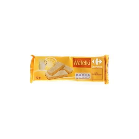 Wafelki, różne smaki marki Carrefour - zdjęcie nr 1 - Bangla