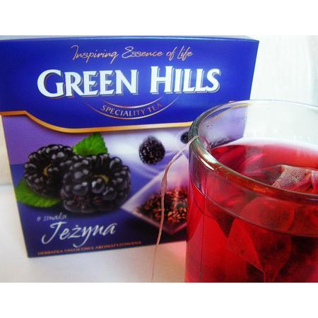 Green Hills, herbata o smaku jeżyny marki Biedronka - zdjęcie nr 1 - Bangla