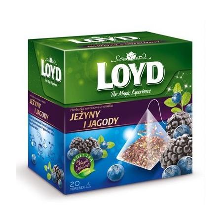 Herbata Jeżyny i Jagody marki Loyd Tea - zdjęcie nr 1 - Bangla